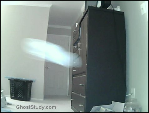 Spirit ghost entering and leaving the room!