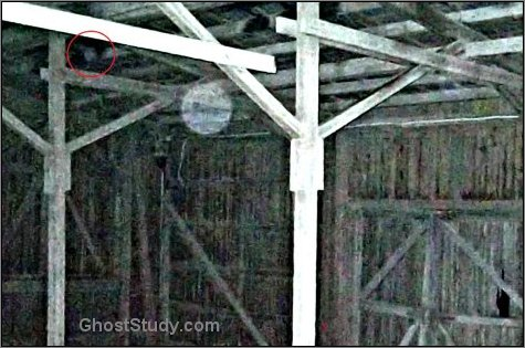 ghost in the rafters spirit lurking haunted