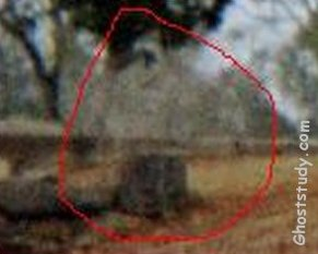 ghost cemetery apparition spooky
