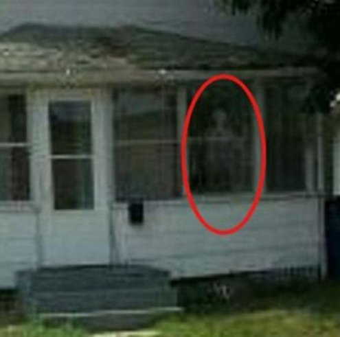 zack haunted house evil demons scary photo